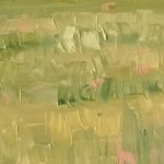 Eleanor Woolley | Looking over to Maugersbury Hill | Impressionistic | Landscape | Section5