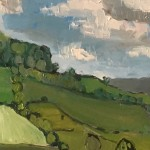 Eleanor Woolley | The Stroud Valley | Impressionistic | Landscape | Section 1