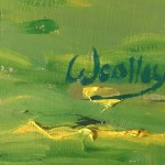Eleanor Woolley | The Stroud Valley | Impressionistic | Landscape | Signed