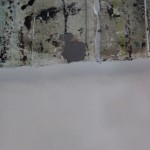 Harriet Hoult, Ava, original mixed media painting, contemporary abstract art, statement art