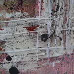 Harriet Hoult, Ava, original mixed media painting, contemporary abstract art, statement art 3