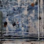 Harriet Hoult, Original Contemporary Abstraxt Art, Mixed Media Painting, Original Art on Paper 4