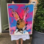 Harry-Bunce-Sorry-86-Rabbit-Nature-Pink-Blue-White-scale