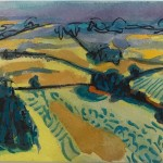 Cotswold landscape for sale by Rosie Phipps