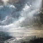 James Bonstow art for sale | seascape painting for sale by James Bonstow | monotone painting
