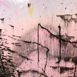 Lee Herring, Winter Fades, Mixed Media Painting 4