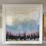 Lee Herring, Winter Fades, Mixed Media Painting 9