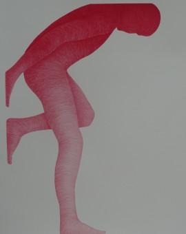 Myrica Jones standing Man Wychwood Art