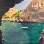 Peri Taylor Sa Calobra, Majorca Wychwood Art (2)