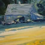 Rupert Aker, Great Tew, Original Painting 3