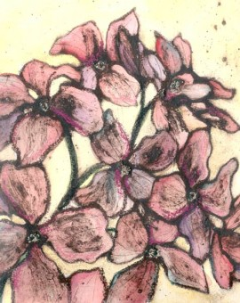 Vicky Oldfield, Honesty bloom, Wychwood Art