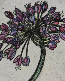 Vicky Oldfield, Painshill allium, Wychwood Art