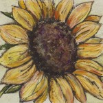 Vicky Oldfield, Sunflower, Wychwood Art
