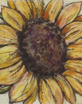 Vicky Oldfield, Sunflower, Wychwood Art