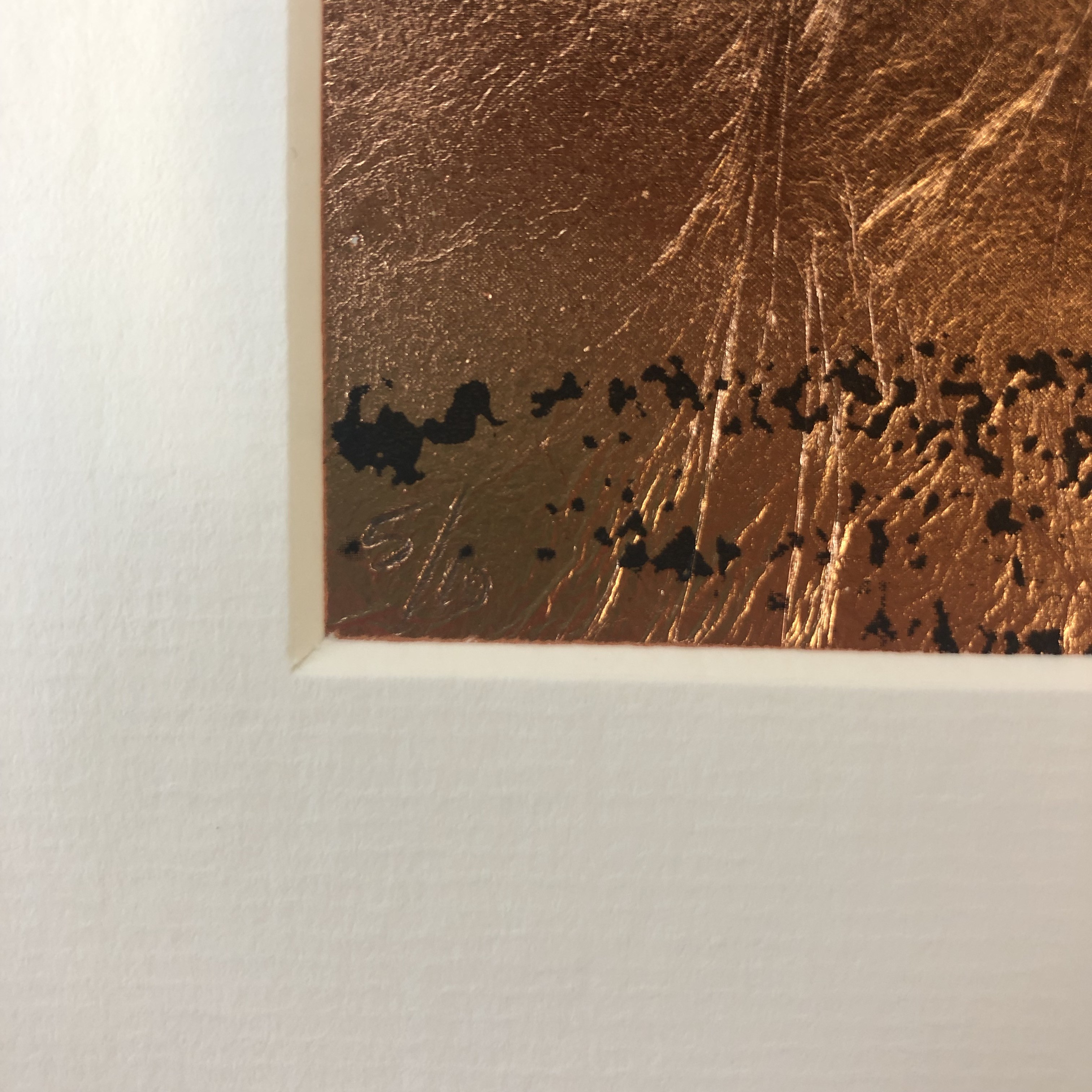Katie Edwards' Copper Seasons with the edition number pictured as a close up.