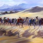 trevor_waugh_camels_contre_jour