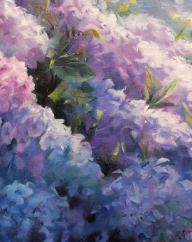trevor_waugh_hydrangeas_in_sunlight