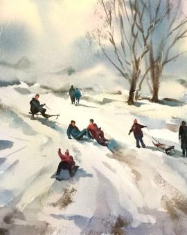 trevor_waugh_snow_at_crickley_hill_cheltenham