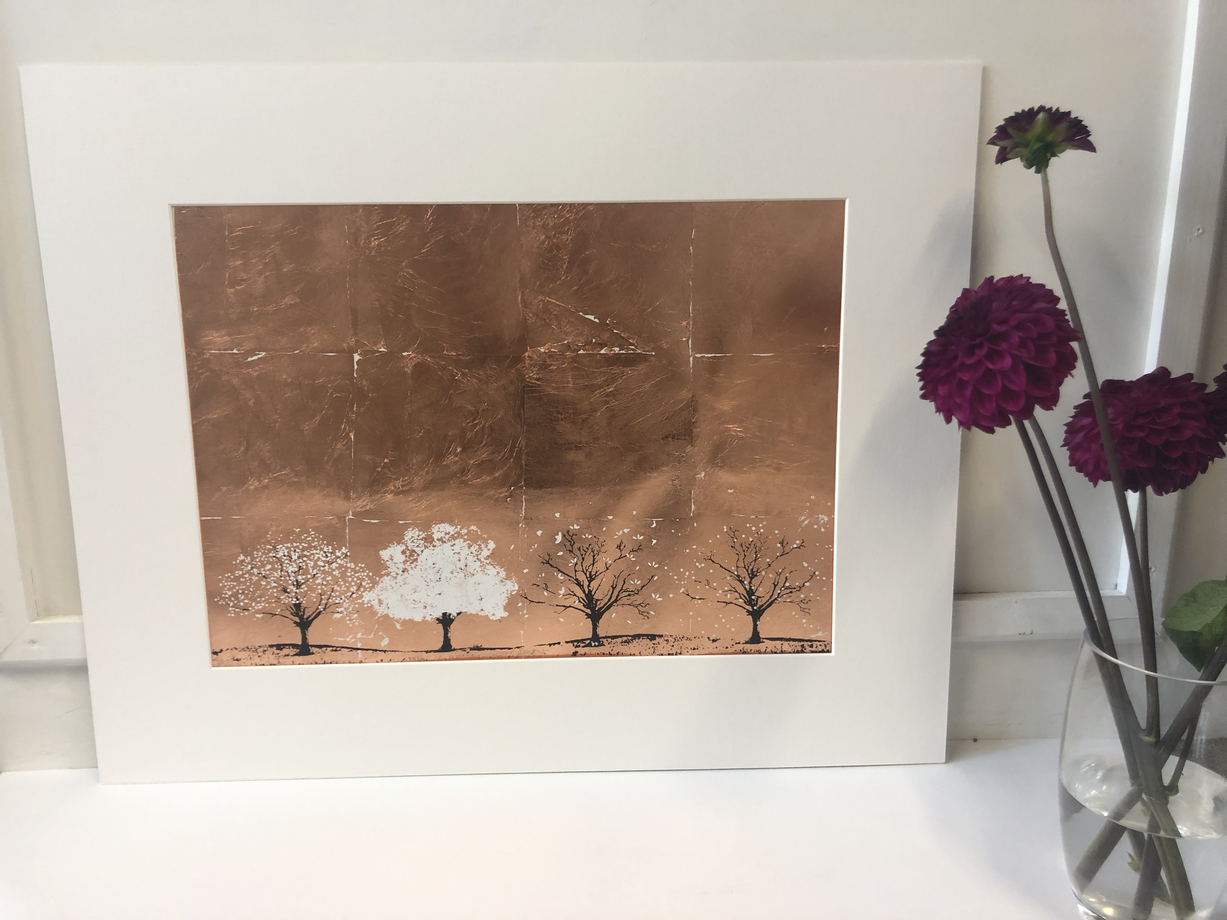 Katie Edwards' Copper Seasons pictured to scale.