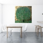 A Perfect Summer Day | Nicky Chubb | Original Contemporary Abstract Landscape Art | Tree Art | In Situ