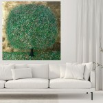 A Perfect Summer Day | Nicky Chubb | Original Contemporary Abstract Landscape Art | Tree Art | In Situ 2