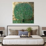 A Perfect Summer Day | Nicky Chubb | Original Contemporary Abstract Landscape Art | Tree Art | In Situ 3