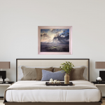 A Wiltshire Sky | Trevor Waugh | Art of Wiltshire | Original Oil Landscape Painting | Contemporary Artist | Affordable Art | Buy Art Online at Wychwood Art | Art for my Bedroom