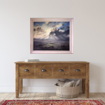 A Wiltshire Sky | Trevor Waugh | Art of Wiltshire | Original Oil Landscape Painting | Contemporary Artist | Affordable Art | Buy Art Online at Wychwood Art | Art for the Hall