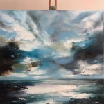 Beckoning of Distant Waters - Helen Howells (Easel View)