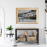 Darmouth Harbour | Trevor Waugh | River Dart | Devon Original Painting for sale | Boat Harbour Painting | Contemporary Art | In Situ 2