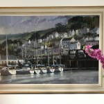 Dartmouth Harbour | Trevor Waugh | Seascape | Devon Art | Boat Art | Painting of a Harbour | Seaside Art | Original Oil Landscape Painting