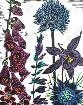 Kate Heiss prints for sale Foxgloves