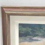 Trevor Waugh Original Oil Painting for Sale Online. Blue Core Menorca. Mediterranean scenes. Close Up 4