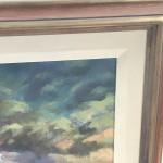 Trevor Waugh Original Oil Painting for Sale Online. Blue Core Menorca. Mediterranean scenes. Close Up 5