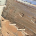 Trevor Waugh Original Oil Painting For Sale Online – Venetian Rooftops. Gifts for Travellers. Affordable Art