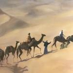 Trevor Waugh, Rhub Al Khali, Original Oil Painting for Sale Online. Figurative Desert Art. Close Up