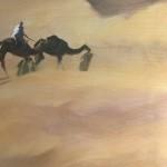 Trevor Waugh, Rhub Al Khali, Original Oil Painting for Sale Online. Figurative Desert Art. Close Up 4