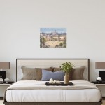 Trevor Waugh | Walls of Marrakech | Original Framed Watercolour Painting | Travel Art | Painting of Marrakech | Gifts for Travellers | Original Contemporary Art | Impressionist Art | Scale