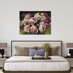 Trevor Waugh | Pink Peonies | Contemporary Oil Painting | Original Still Life Art | Flower Painting | Floral Art | Floral Interiors | Signature