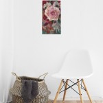 Trevor Waugh | Rose Study | Original Oil Painting | Contemporary Floral Art | Flower Painting | Floral Interiors | Full on