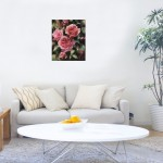Trevor Waugh | Deep Pink | Roses | Original Oil Painting | Contemporary Floral Still Life Painting | Flower Art | Flower Study | Roses | Signature