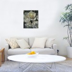 IMTrevor Waugh | The White Ones | Original Oil Painting | Floral Still Life Painting | White Roses | Contemporary Art | Floral Interiors | Flower Art | SignatureG_5730