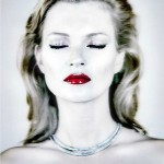 Kate Moss limited edition print art for sale Chris Levine.
