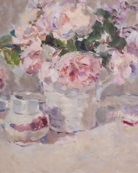 Lynne Cartlidge Spring Roses Wychwood Art