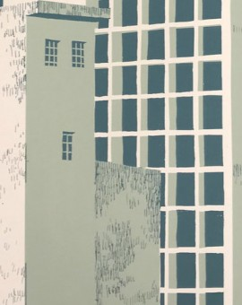 Manausblue-car-park-elisa-southwood-limited-edition-silkscreen-print-for-sale copy