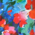 Mary Chaplin poppies in the sun detail 5 Wychwood Art