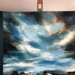 Oh How You Sing - Helen Howells (Full Easel View)