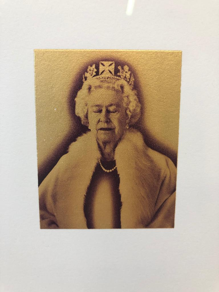 Chris Levine is well known for his prints depicting some of the most famous individuals on the planet.
