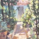 Spanish Light | Trevor Waugh | Original Contemporary Oil Painting | Impressionist Art | Colourful Art | Close Up