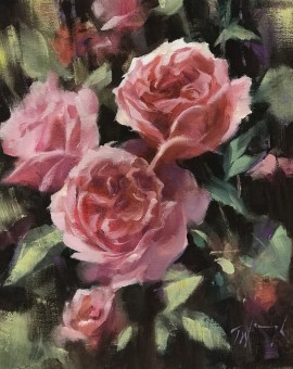 trevor waugh painting for sale flower painting